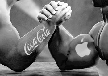 Apple Beats Coca-Cola For Being Number One Brand Name