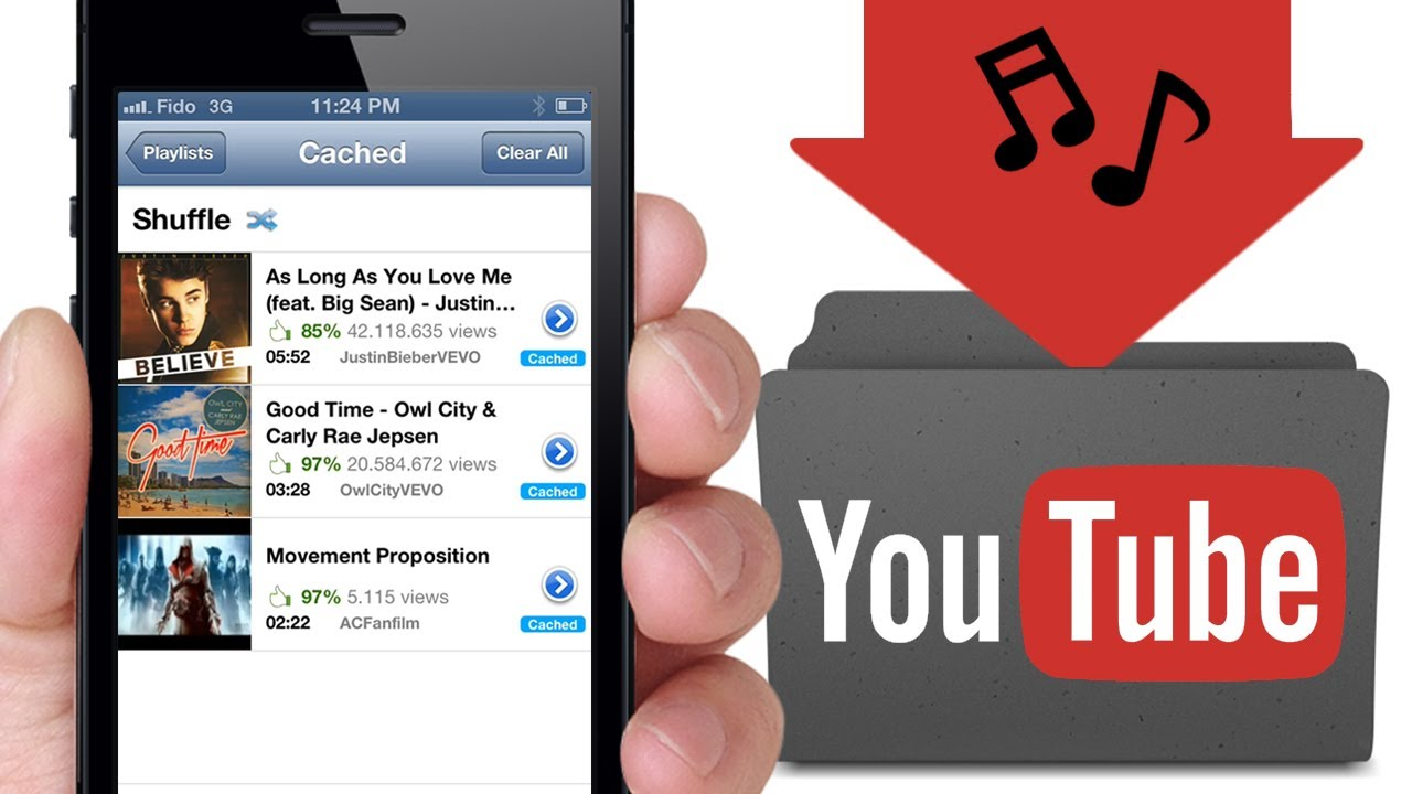Upload You Tube Videos Directly To Your iPhone
